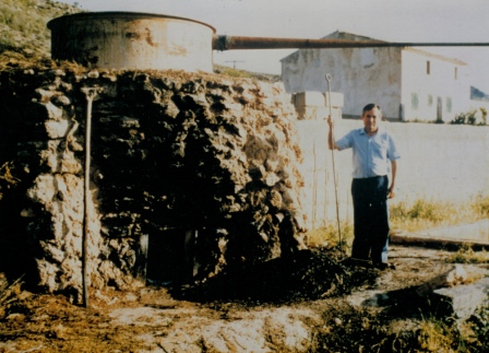 Traditional distillery of Lozano in Casa Cerrojo