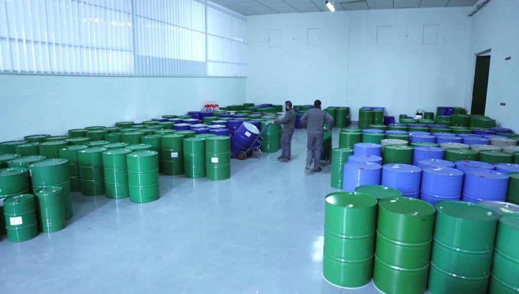 Essential oils Storage
